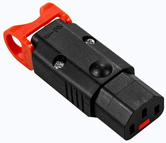 IEC Lock lukkiutuvat kojeliittimet