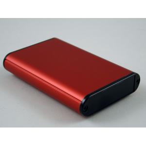 Hammond profiilikotelo 100x72x19 mm, punainen