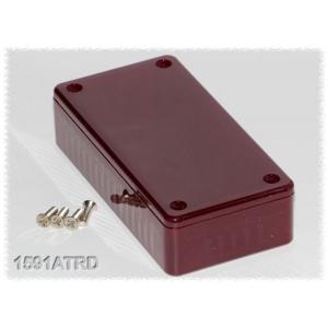 Hammond PC-kotelo 99x51x24 mm, IR Red, IP54