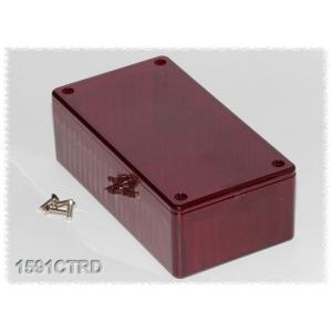 Hammond PC-kotelo 119x66x40mm, IR Red, IP54