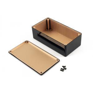 ABS-kotelo 150x81x50, musta, EMC-suojattu