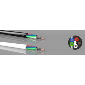 LEDotronic 4/1 RGBW, 4x0,5+1x1,0 mm², musta