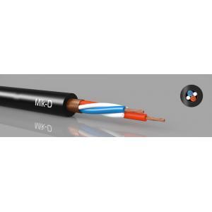 Mikkikaapeli 2x0,22mm² Ø5,5mm, musta