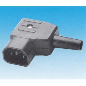 IEC C14 kojejohtouros, kulma sivulle