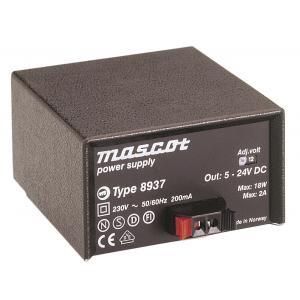 8937/5-24VDC 18W, pikaliittimillä