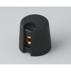 OKW TOP-KNOBS Ø16, nero, 4 mm