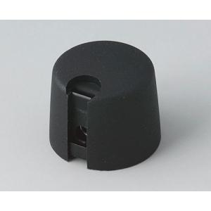 OKW TOP-KNOB Ø20, nero, 1/4 inch