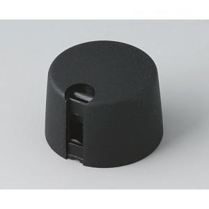 TOP-KNOBS 24, nero, 6mm