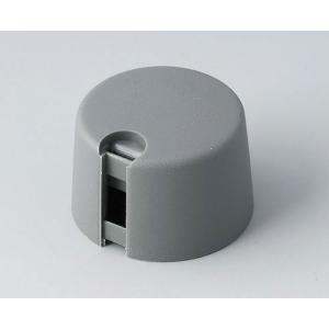 OKW TOP-KNOBS Ø24, volcano, 1/4 inch