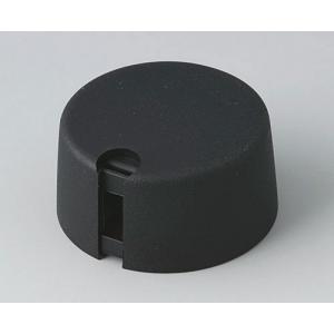 TOP-KNOBS 31, nero, 4mm