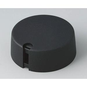 OKW TOP-KNOBS Ø40, nero, 1/4 inch