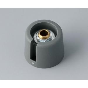 OKW COM-KNOBS Ø20 with slot, volcano, 6 mm