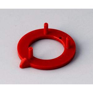 OKW knob arrow disk 16, red