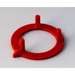 OKW knob arrow disk 23, red