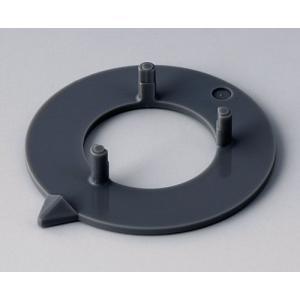 OKW knob arrow disk 31, dust grey