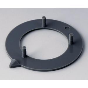 OKW knob arrow disk 40, dust grey