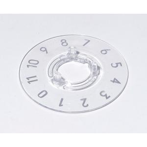OKW knob dial 13.5, transparent