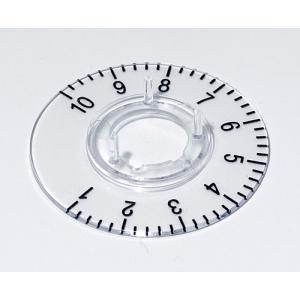 OKW knob dial 16, transparent