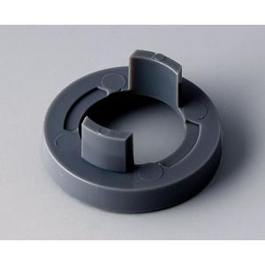 OKW knob nut cover 23, without line, grey