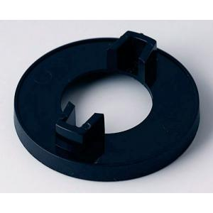 OKW knob nut cover 40, without line, black