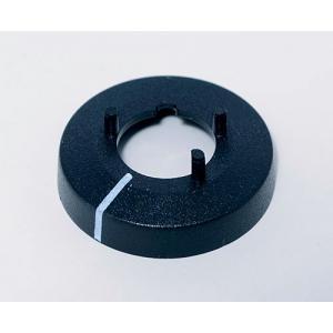 OKW knob nut cover 10, with line, black
