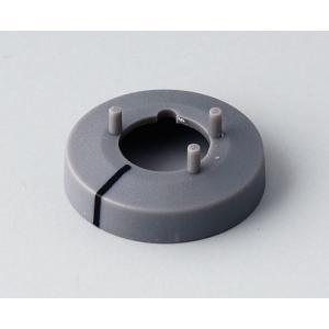 OKW knob nut cover 10, with line, grey