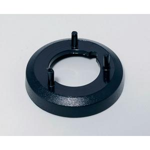 OKW knob nut cover 16, without line, black