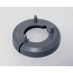 OKW knob nut cover 16, with line, grey