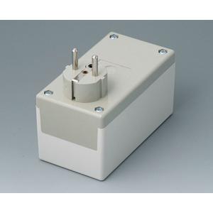 OKW PLUG CASE F/D, 120x65x55 mm, Vers. I