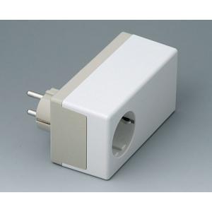 OKW PLUG CASE D, 120x65x55 mm, Vers. II