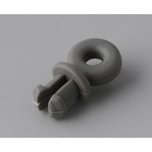 plastic with inside ring d.2,5mm,volcano
