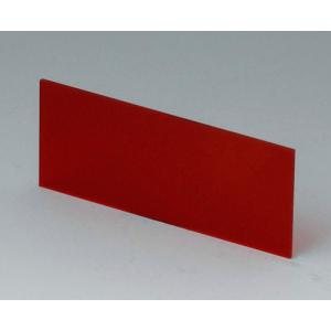 OKW A9106113 red transparent front/rear panel