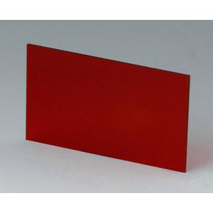 OKW A9106123 red transparent front/rear panel