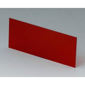 OKW A9108123 red transparent front/rear panel