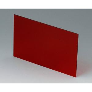 OKW A9113223 red transparent front/rear panel