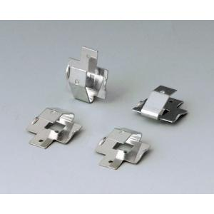 Set of battery clips, 2 x 9 V or 4 x AA
