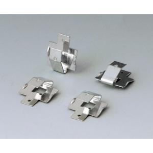 Set of battery clips, 4 x AA / 2 x 9 V