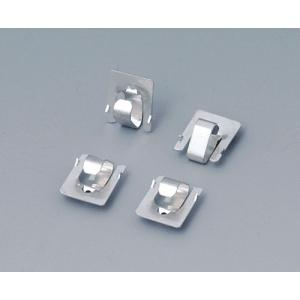 Set of battery clips, 2x AAA, tin-plated