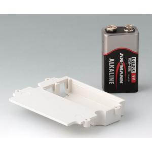 Battery compartment, 1 x 9 V