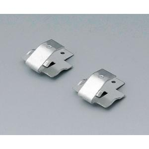 Set of battery clips, 1x 9 V, tin-plated