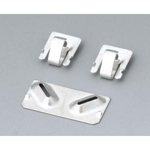 Set of battery clips, 2x N / 2x AA /2x A