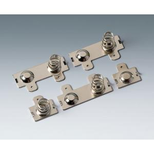 Set of battery clips, 4 x AA