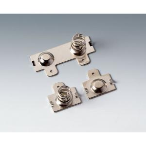 Set of battery clips, 2 x AA