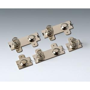 Set of battery clips 4 x AA