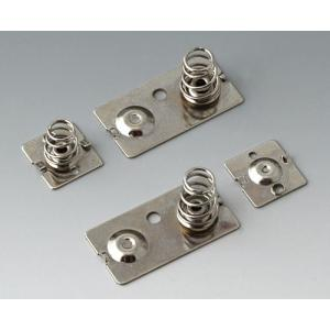 Set of battery clips for 3x AA