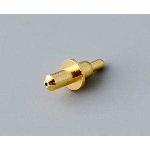 Spring contact, unipolar, gold-plated, 15A