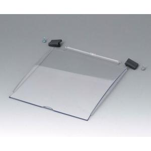 OKW DIATEC S & L clear hinged lid