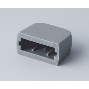 USB end cover, grey