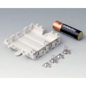 Set of battery compartment, 4 x AA