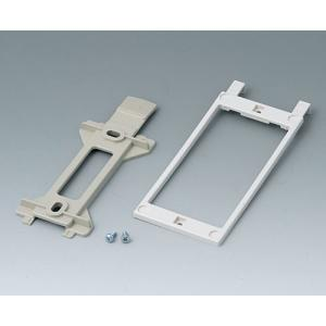Universal wall suspension element 58x128 mm